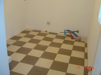 sol en damier tout l univer du carrelage. Black Bedroom Furniture Sets. Home Design Ideas