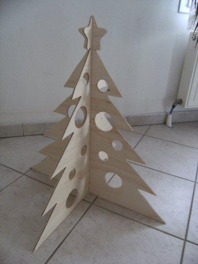 Sapin de no l en bois belgipicascrap - Sapin de noel en bois design ...
